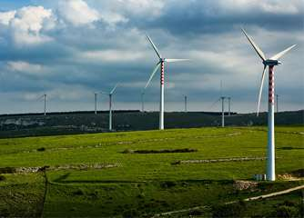 Taxes and renewable energy surcharges raise the cost of wind power