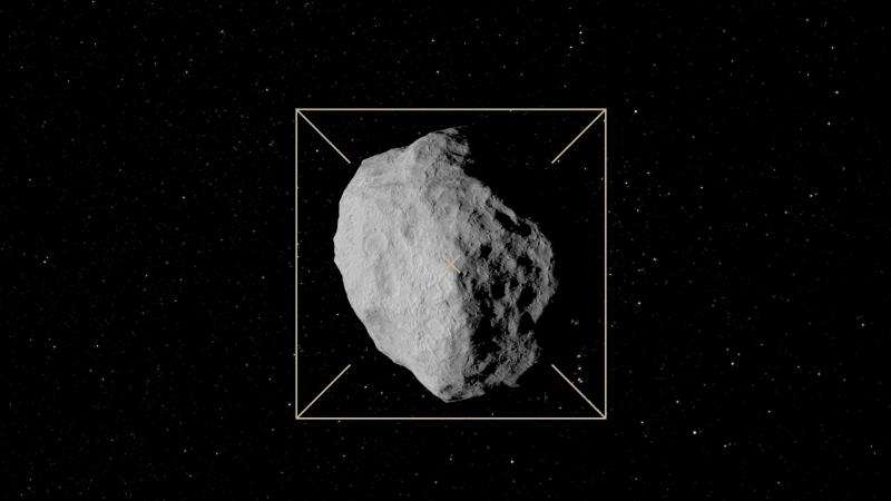 Telescopes focus on target of ESA's asteroid mission
