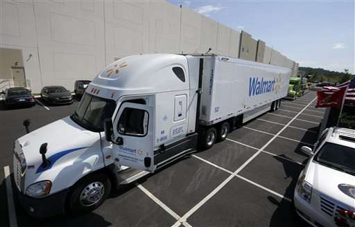 Wal-Mart, others speed up deliveries to shoppers