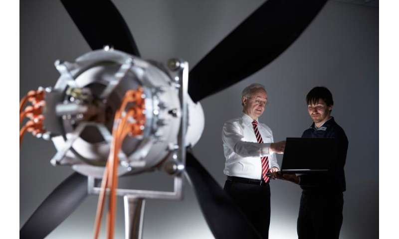 World-record electric motor for aircraft