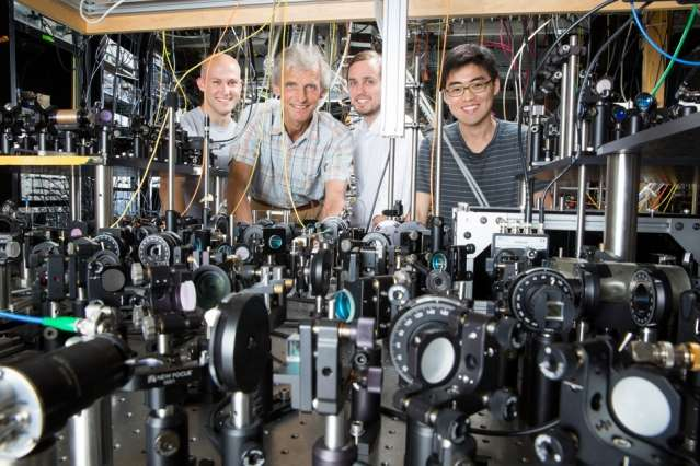 Research team creates a superfluid in a record-high magnetic field