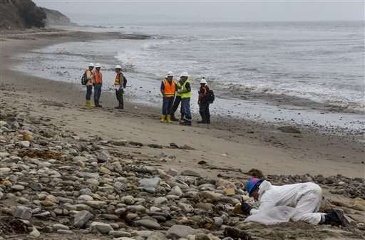 California oil spill cleanup costs reaches $62 million