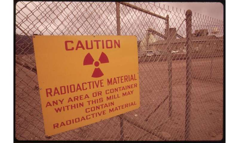 """Scientists discover a bacterium that """"breathes"""" uranium and renders it immobile"""