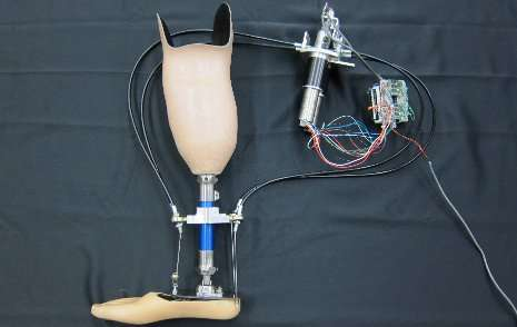Researchers developing an artificial vision system for prosthetic legs to improve gait