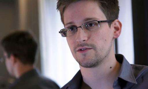 An image grab taken on June 6, 2013 shows Edward Snowden speaking during an interview with The Guardian newspaper at an undisclo