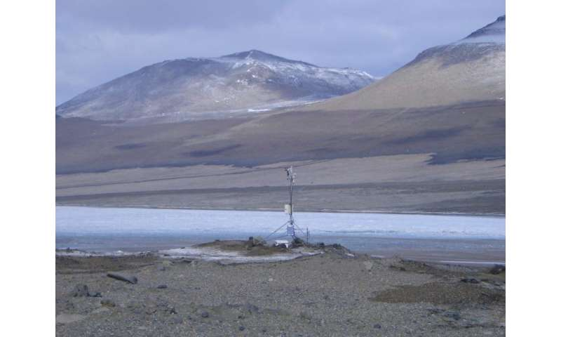 Antarctic offers insights into life on Mars