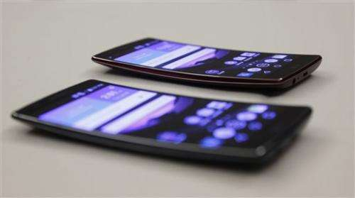 At The Gadget Show: Curved phones, smarter homes