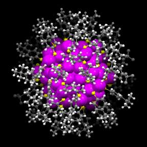 Carnegie Mellon chemists create tiny gold nanoparticles that reflect nature's patterns
