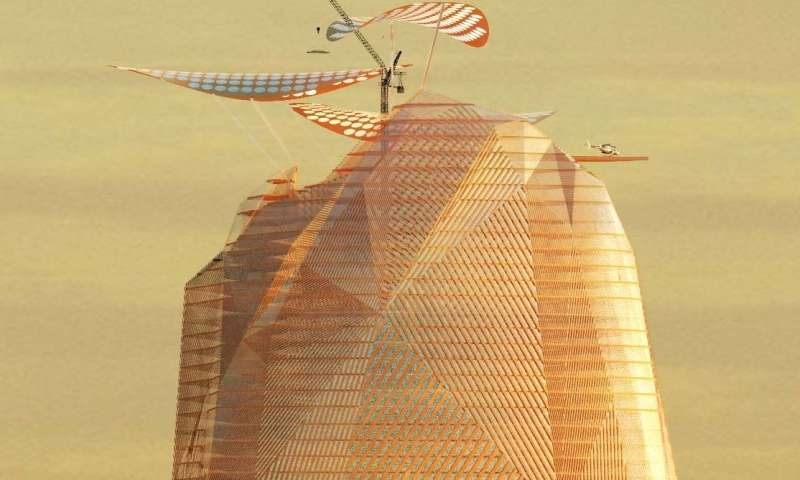 Concepts emerge for a vertical city in the desert