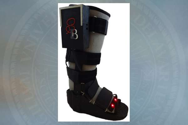 Engineering students add high-tech function to low-tech orthopedic boot