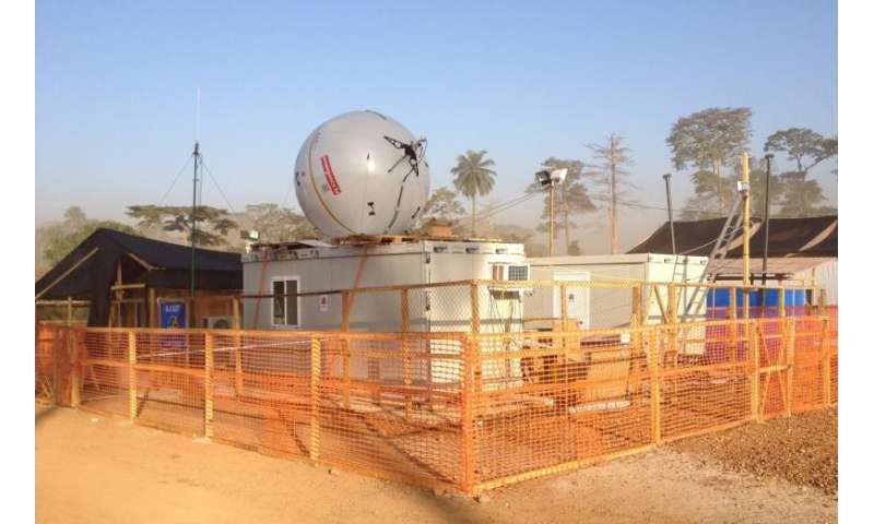 ESA aids Ebola patients