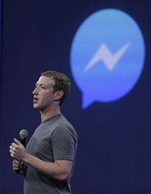 Facebook's Messenger app adding more ways to connect (Update)