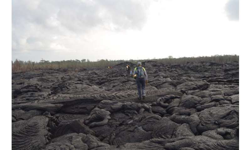 In Hawaii, living with lava