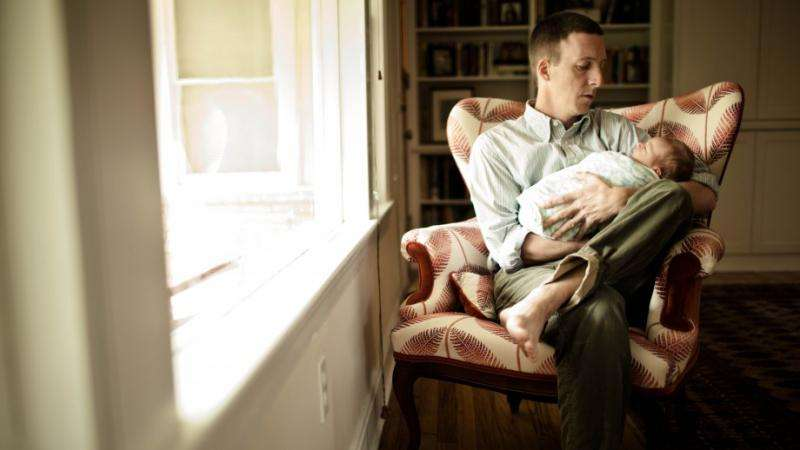 Mental health risk for new dads