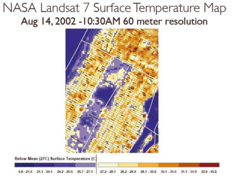 NASA science leads New York City Climate Change 2015 Report