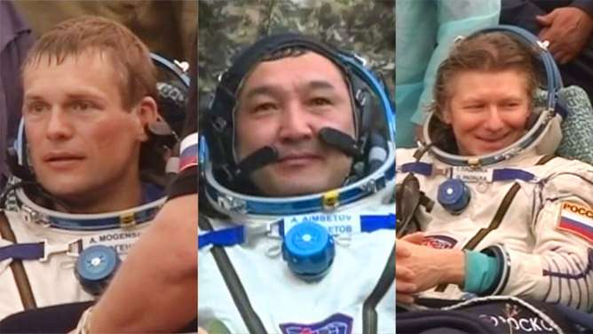 Record-breaking astronauts return to Earth – taking us one step closer to Mars