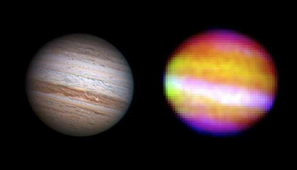 The gas giant Jupiter