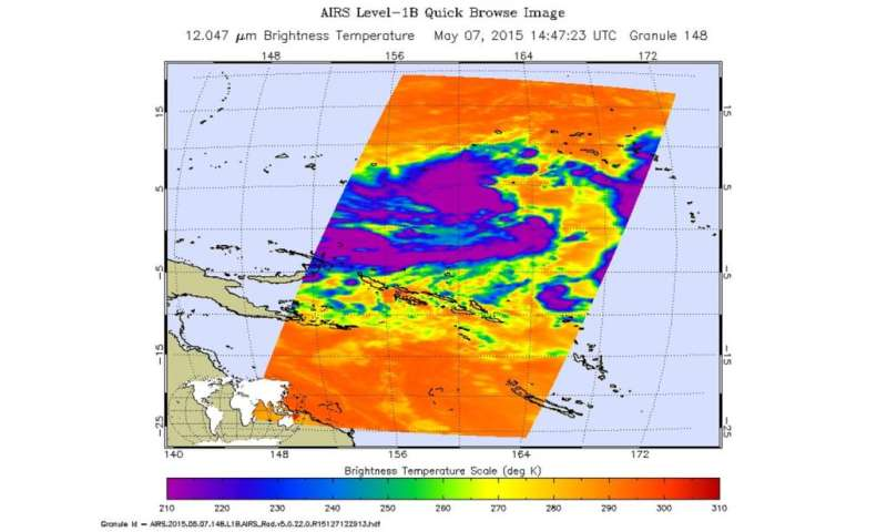 Tropical Depression 07W starting to get organized