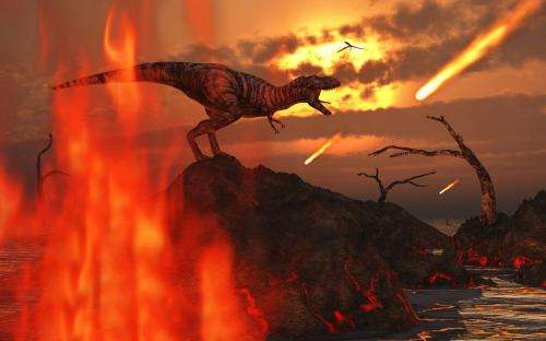 What was the impact that killed the dinosaurs?