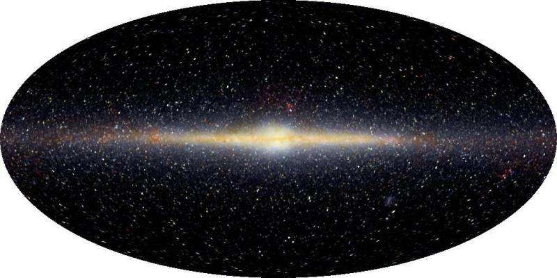 Why can't we see the center of the Milky Way?