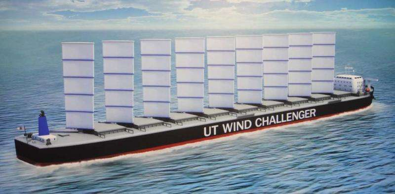 Researchers are looking to wind power for the next generation of ships