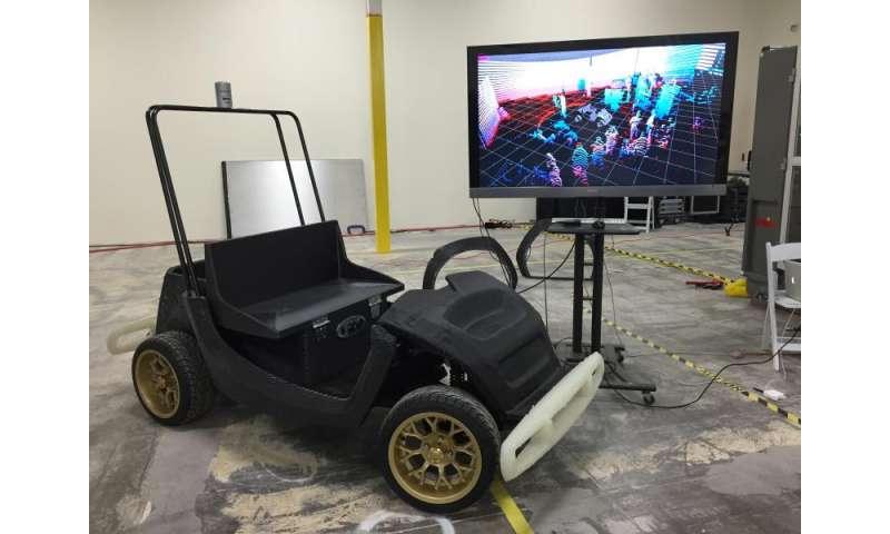 Researchers to test 3D-printed, autonomous 'SmartCarts'
