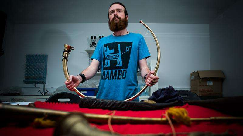 3D printing revives bronze-age music