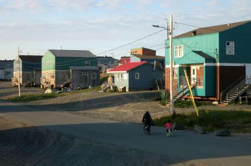 For the first time the Inuit village of Umiujaq is experiencing heatwaves, and the elderly locals can no longer predict the weat