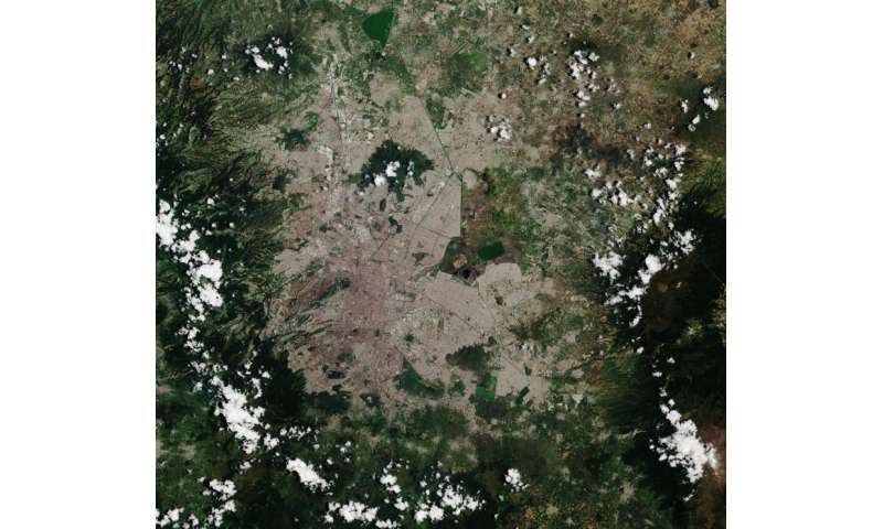 Image: Sentinel-2A captures Mexico City