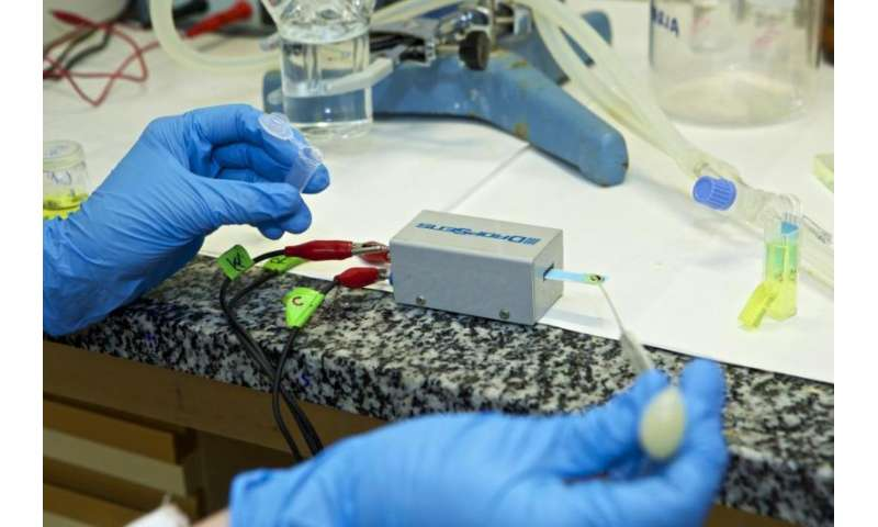 More efficient biosensors for monitoring glucose levels in the field