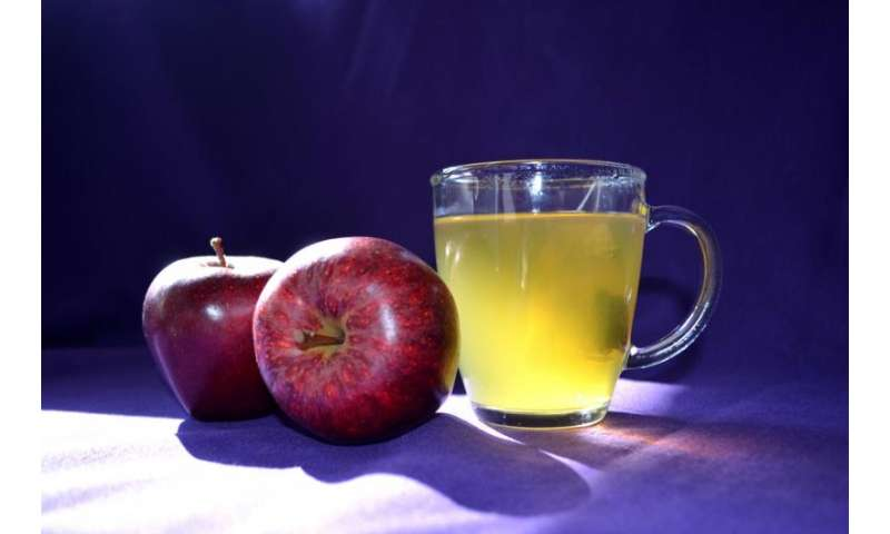 New evidence for how green tea and apples could protect health