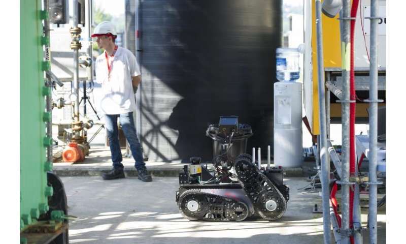 Robots under test for oil and gas rig duty