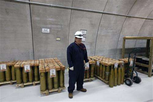 US to destroy its largest remaining chemical weapons cache