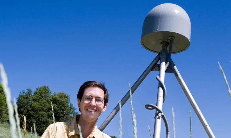Utah State University geophysicist Tony Lowry