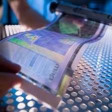 Researchers develop molecular backbone of super-slim, bendable digital displays