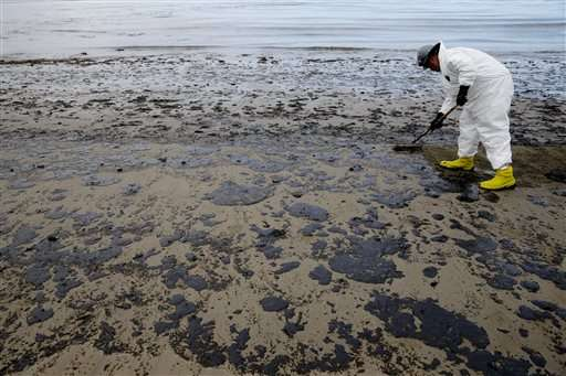 A look at how California spill compares with 1969 disaster
