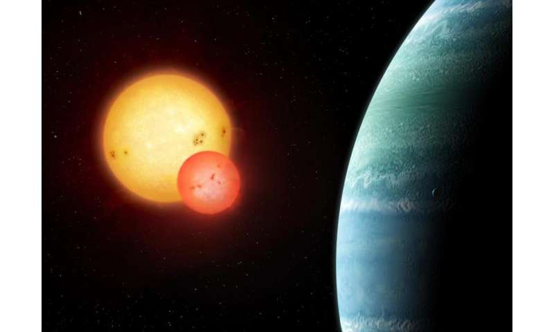 Astronomers discover new planet orbiting two stars