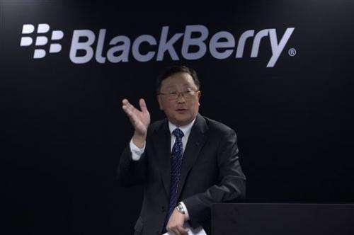 BlackBerry offers new phones but turns focus to software