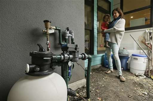 California's drought spurring water recycling at home