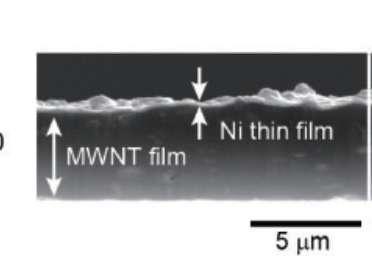 Carbon-nanotube strips harness waste heat