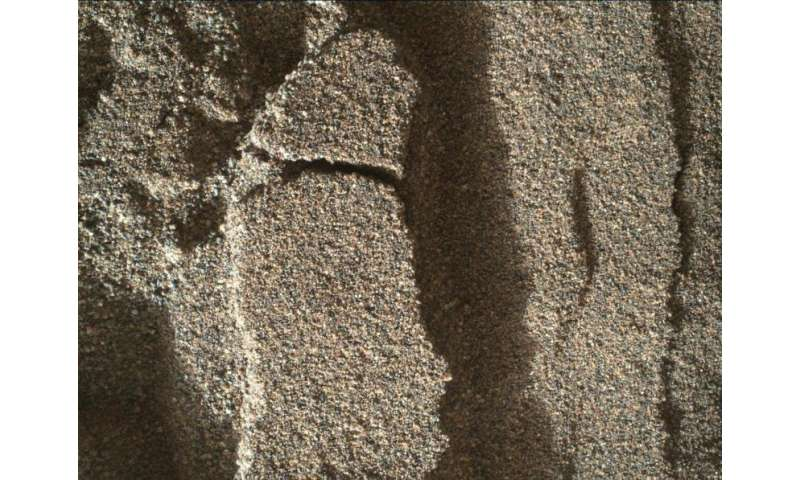 NASA Mars Rover Curiosity reaches sand dunes