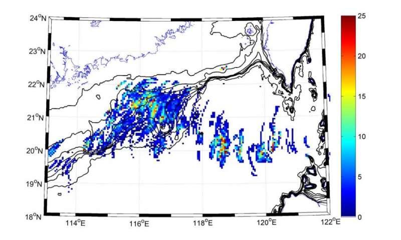 Scientists track monster waves below the ocean surface