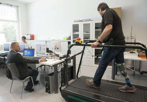 The world's first artificial leg is capable of simulating the feelings of a real limb and fighting phantom pain