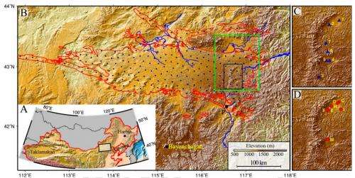 Study indicates groundwater sapping led to desertification of parts of Inner Mongolia