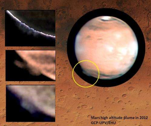 'Cloud' over Mars leaves scientists baffled
