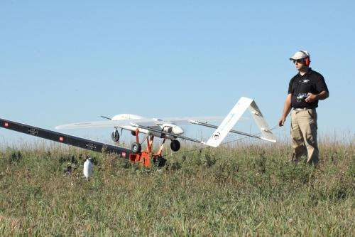 Using unmanned aerial systems to detect emerging pest