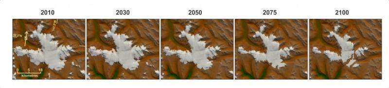 Western Canada to lose 70 percent of glaciers by 2100