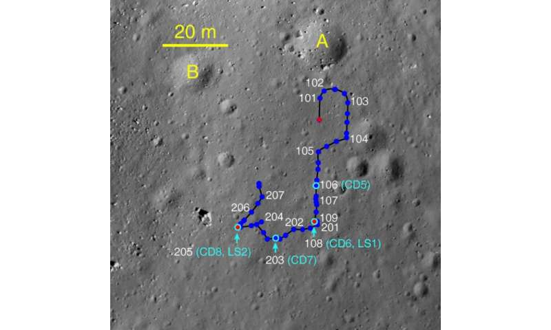 Immobilized Yutu rover still providing valuable lunar data
