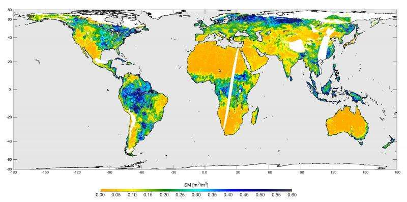 NASA soil moisture mission begins science operations