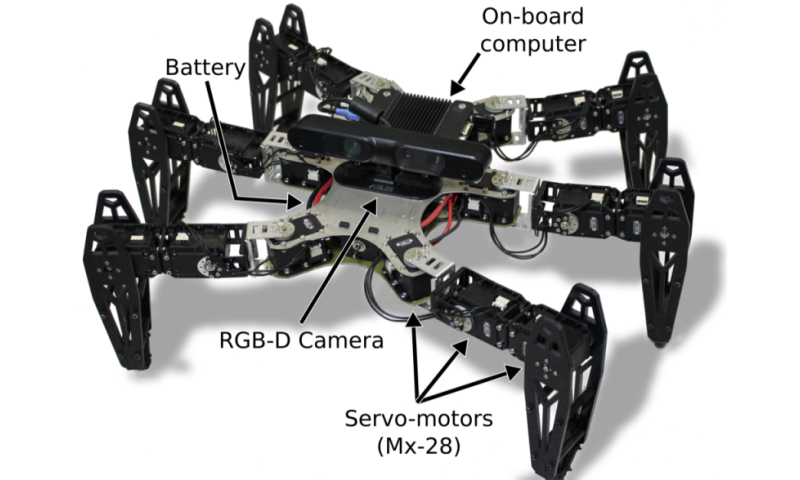 Robots can recover from damage in minutes (w/ Video)